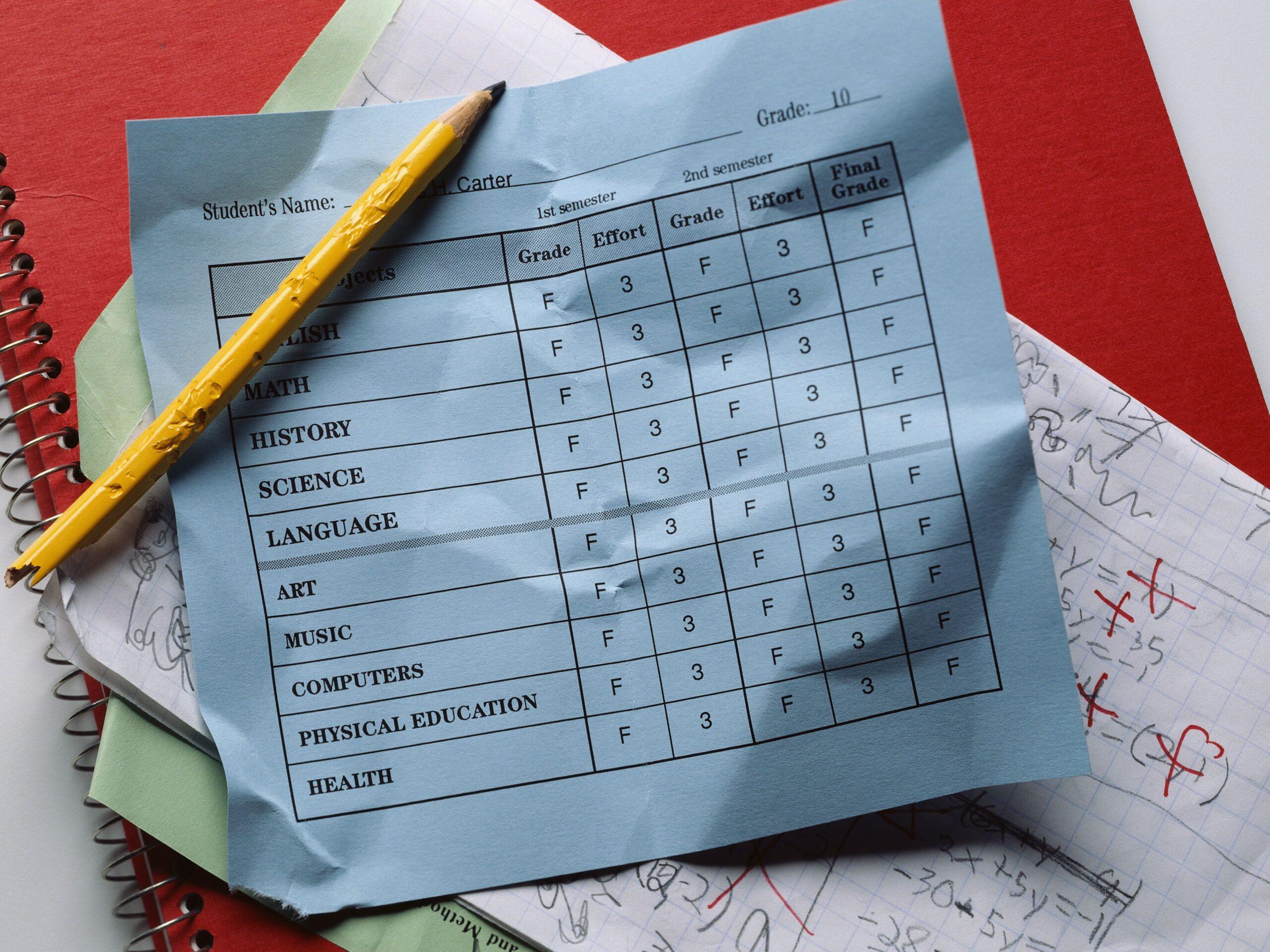 Overcoming Bad Grades