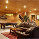 6 Simple Finished Basement Design Ideas