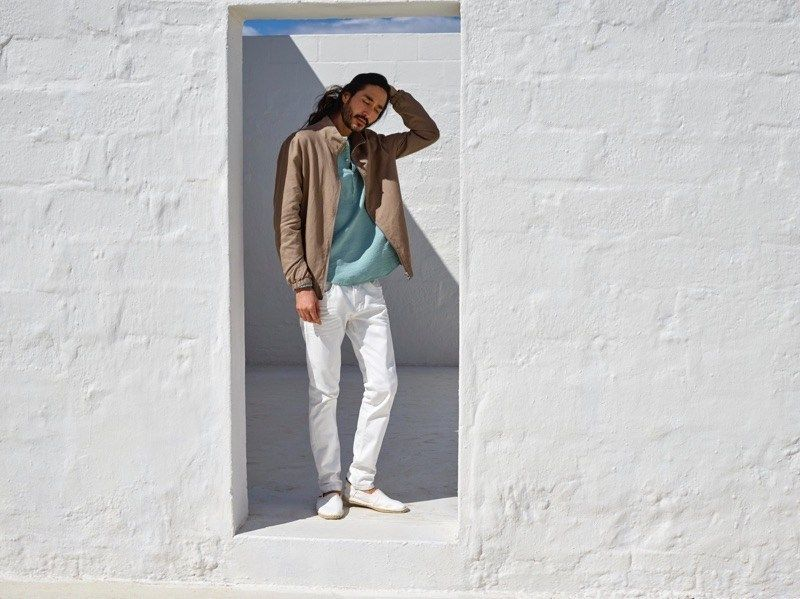 Tony Thornburg & Matt Doran Play It Casual for Esprit Summer '21 Campaign