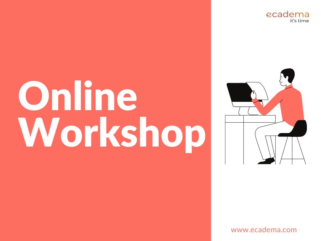 11 Points to Consider When Planning an Online Workshop | ecadema