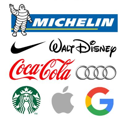 Which retail logos convey brand values the best?